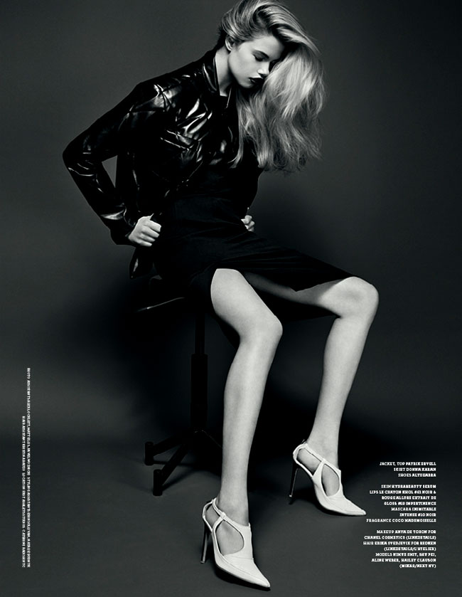 fall fever aline weber, shu pei, hailey clauson & mimue smit kai z. feng tom van dorpe stockholm magazine fall-winter 2012 16